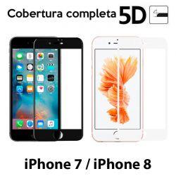Protector de pantalla Cristal Templado 5D Completo iPhone 7 / iPhone 8