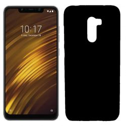 Funda de TPU Mate Lisa para Xiaomi Pocophone F1 Silicona Negro