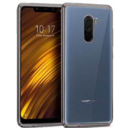 Funda de TPU con Borde Metalizado Negro - Xiaomi Pocophone F1