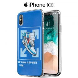 Funda de Silicona con Dibujo Air Jordan para iPhone Xr