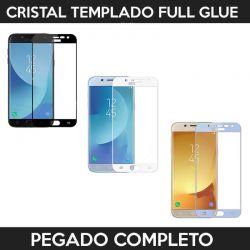 Protector pantalla adhesivo y pegado completo para Samsung Galaxy J7 2017