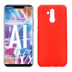 Funda de TPU Mate Lisa para Huawei Mate 20 Lite Silicona Rojo