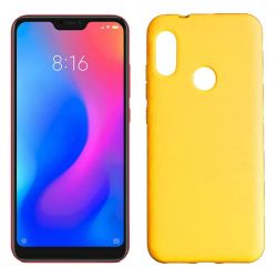 Funda de Silicona tacto suave Xiaomi Redmi 6 Pro / Mi A2 Lite Amarillo