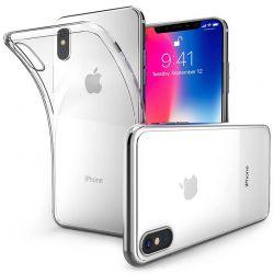 Funda de TPU Silicona Transparente para iPhone X