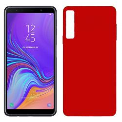 Funda TPU Mate Lisa Samsung Galaxy A7 Silicona Flexible Rojo