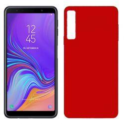 Funda TPU Mate Lisa Samsung Galaxy A7 Silicona Flexible Rojo