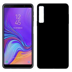 Funda TPU Mate Lisa Samsung Galaxy A7 Silicona Flexible Negro