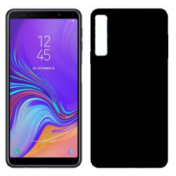 Funda TPU Mate Lisa Samsung Galaxy A7 Silicona Flexible Negro
