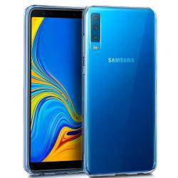 Funda de TPU de silicona Transparente para Samsung Galaxy A7