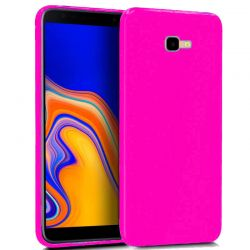 Funda TPU Mate Lisa Samsung Galaxy J4 Plus Silicona Flexible Rosa