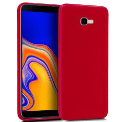 Funda TPU Mate Lisa Samsung Galaxy J4 Plus Silicona Flexible Rojo