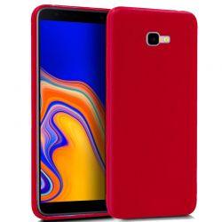 Funda TPU Mate Lisa Samsung Galaxy J4 Plus Silicona Flexible Rojo