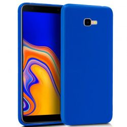 Funda TPU Mate Lisa Samsung Galaxy J4 Plus Silicona Flexible Azul