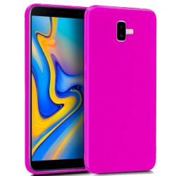Funda TPU Mate Lisa Samsung Galaxy J6 Plus Silicona Flexible Rosa