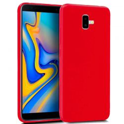 Funda TPU Mate Lisa Samsung Galaxy J6 Plus Silicona Flexible Rojo