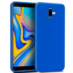 Funda TPU Mate Lisa Samsung Galaxy J6 Plus Silicona Flexible Azul