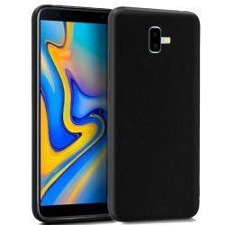 Funda TPU Mate Lisa Samsung Galaxy J6 Plus Silicona Flexible Negro