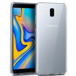 Funda de TPU de silicona Transparente para Samsung Galaxy J6 Plus