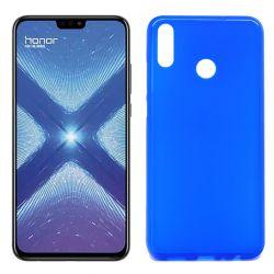Funda de Silicona Mate Lisa para Honor 8X color Azul