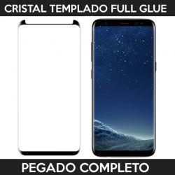 Protector pantalla full glue adhesivo completo Samsung Galaxy S8 Negro