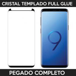 Protector pantalla full glue adhesivo completo Samsung Galaxy S9 Negro