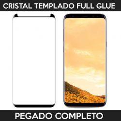 Protector de pantalla adhesivo completo Samsung Galaxy S8 Plus Negro