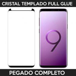 Protector de pantalla adhesivo completo Samsung Galaxy S9 Plus Negro