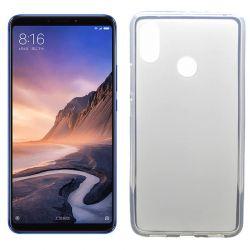 Funda TPU Mate Lisa para Xiaomi Mi Max 3 Silicona flexible Blanca