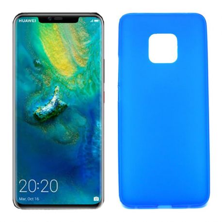 Funda de TPU Mate Lisa para Huawei Mate 20 Pro Silicona Azul