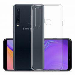 Funda de TPU de silicona Transparente para Samsung Galaxy A9 2018