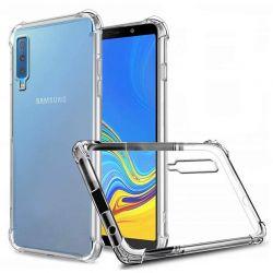 Funda esquinas reforzadas de Silicona - Samsung Galaxy A7 2018