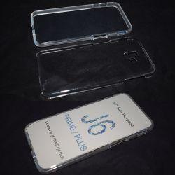 Funda Doble 360 Frontal y Trasera Sin Puntos - Samsung Galaxy J6 Plus