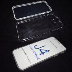 Funda Doble 360 Frontal y Trasera Sin Puntos - Samsung Galaxy J4 Plus