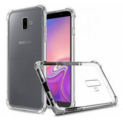 Funda esquinas reforzadas de Silicona - Samsung Galaxy J6 Plus