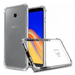 Funda esquinas reforzadas de Silicona - Samsung Galaxy J4 Plus