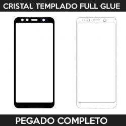 Protector pantalla con adhesivo y pegado completo - Samsung Galaxy A7 2018