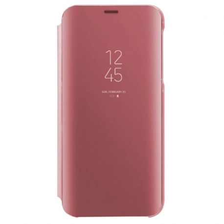 Funda de tapa espejo rosa Clear View para iPhone 11 Pro