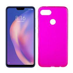 Funda de TPU Mate Lisa para Xiaomi Mi8 Lite Silicona Flexible Rosa