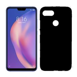 Funda de TPU Mate Lisa para Xiaomi Mi8 Lite Silicona Flexible Negro