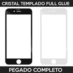 Protector pantalla Full Glue con adhesivo y pegado completo - iPhone 6 / iPhone 6S