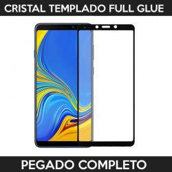 Protector pantalla con adhesivo y pegado completo - Samsung Galaxy A9 2018