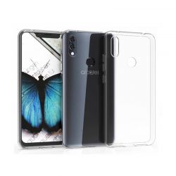 Funda flexible de Silicona Transparente para Alcatel 5v