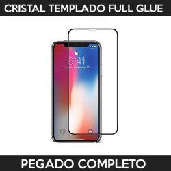 Protector pantalla con adhesivo y pegado completo - iPhone X / iPhone XS