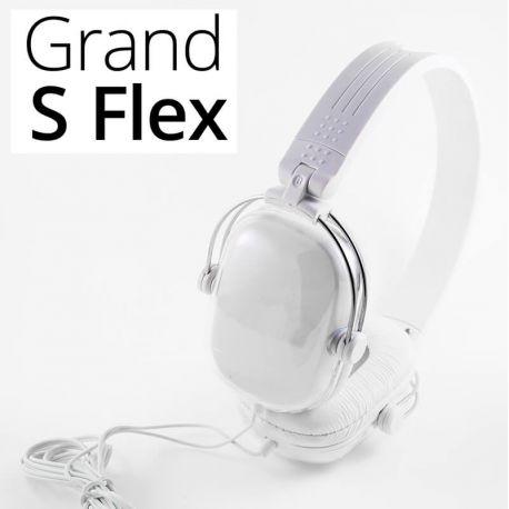 Auriculares de Diadema Plegables Supraaurales Grand S Flex Blancos
