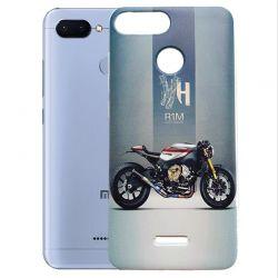 Funda Silicona con Dibujo Moto Yamaha para Xiaomi Redmi 6 / Redmi 6A