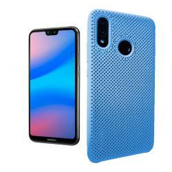 Funda de Silicona perforada para Huawei P20 Lite Azul