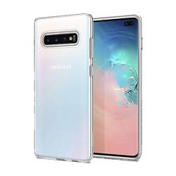 Funda Silicona Transparente Samsung Galaxy S10 Plus