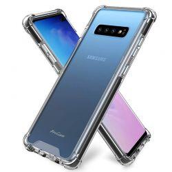 Funda Transparente Silicona cantos reforzados Samsung Galaxy S10 Plus