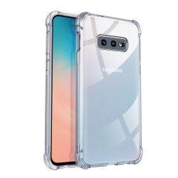 Funda Transparente Silicona cantos reforzados Samsung Galaxy S10E