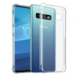 Funda Transparente Silicona cantos reforzados Samsung Galaxy S10